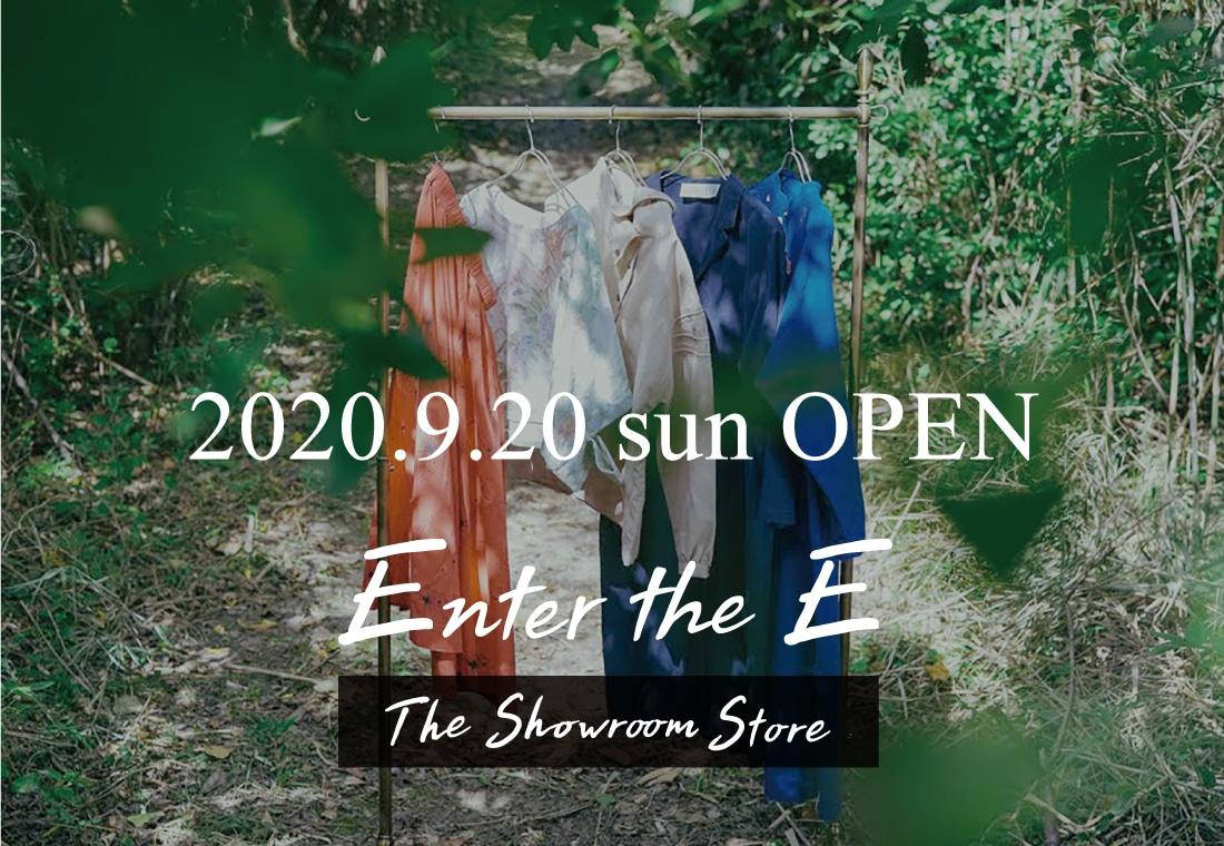 The Showroom Store 9/20-3/14オープン!